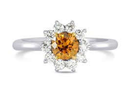 What Are Orange Diamond Rings?