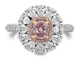 What Are Pink Diamond Rings?