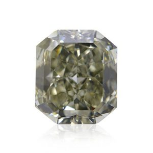 3.12Cts Chameleon Loose Diamond Natural Color Radiant Cut GIA Certificate