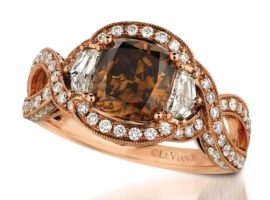 What are Chocolate Diamond Rings?
