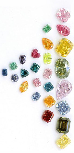 Fancy Colored Diamonds are Most Expensive