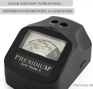 Presidium Gem Tester II (PGT II) for Identifying DiamondsMoissanites and Up To 16 Common Colored Gemstones