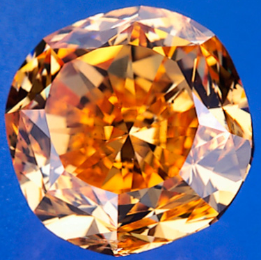 Pumpkin Orange Diamond