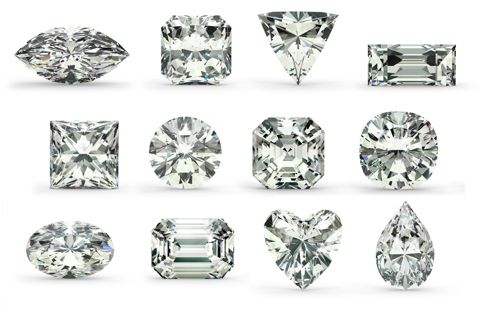 What Shapes Do Diamonds Come In
