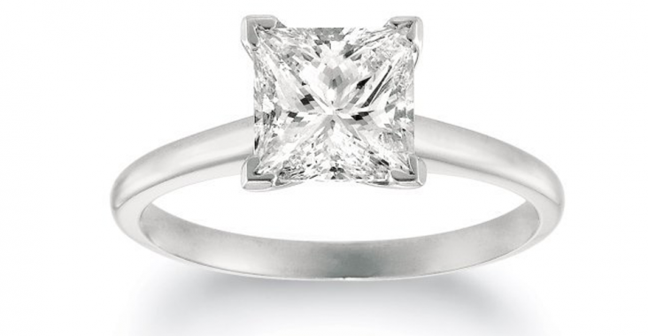 What are Solitaire Diamond Rings