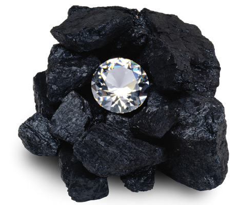 diamond-in-coal