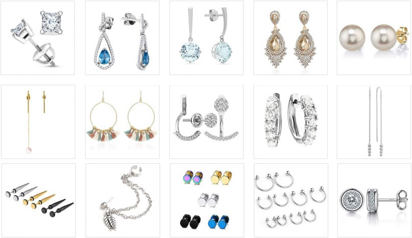The 26 Trendiest Popular Types Of Earrings And Earring Styles For