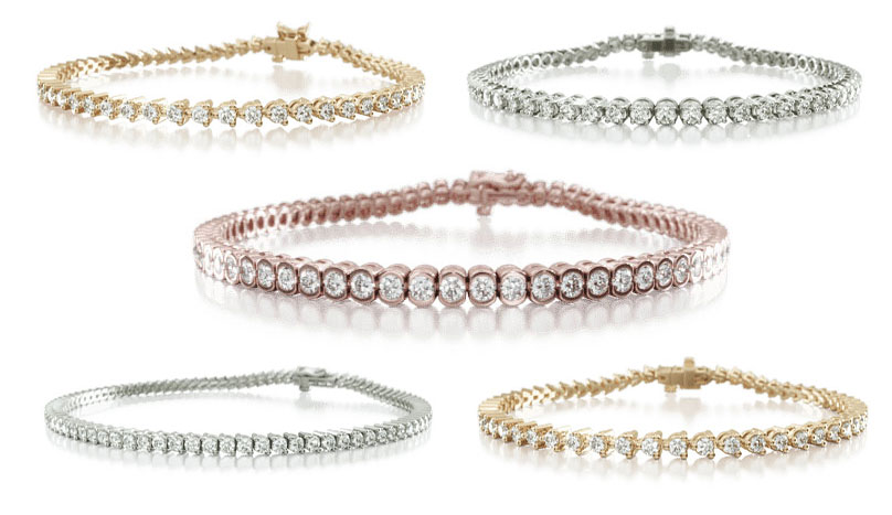 types of tennis bracelets