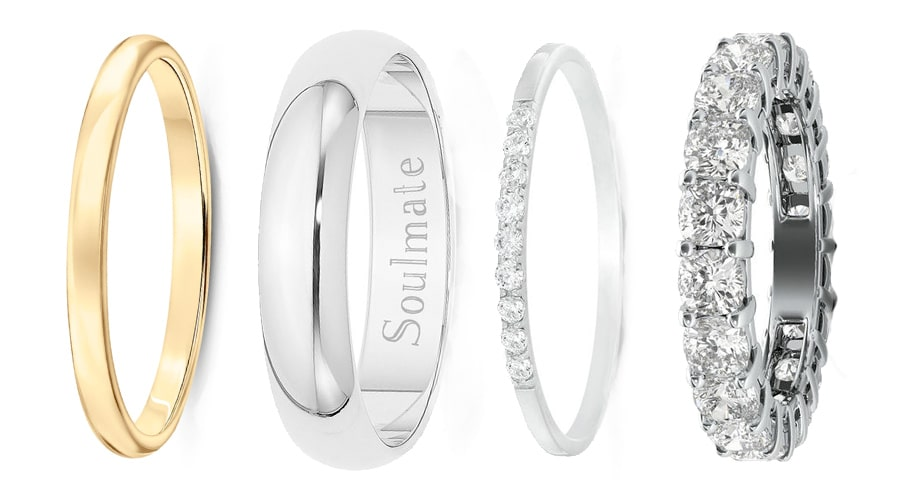 Types of Wedding Bands For Women